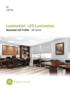 Data Sheet — BR Series Recessed Lumination | IND113