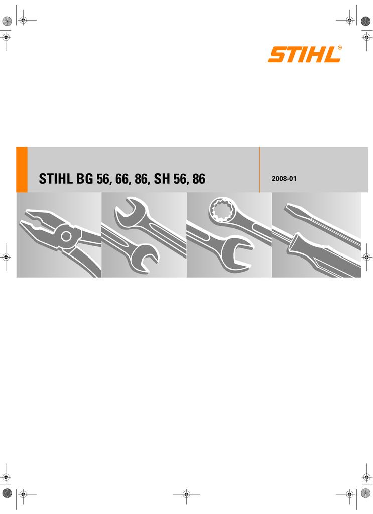 STIHL BG 56, 66, 86, SH 56, 86