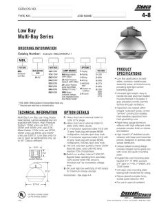 stonco specs 4 - Dyna-Brite Lighting, Inc.