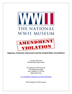 Amendment Violation Lesson Plan