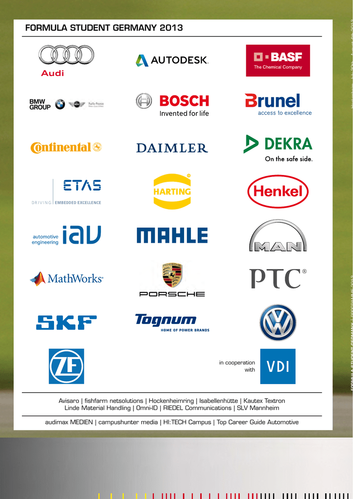 July 30 Hocke - Formula Student Germany
