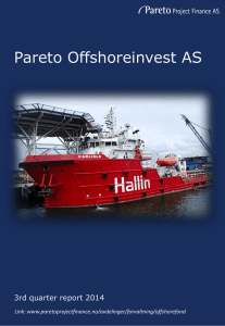 Pareto Offshoreinvest AS