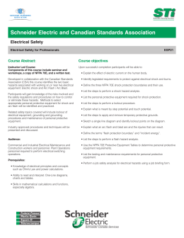 Schneider Electric and Canadian Standards Association