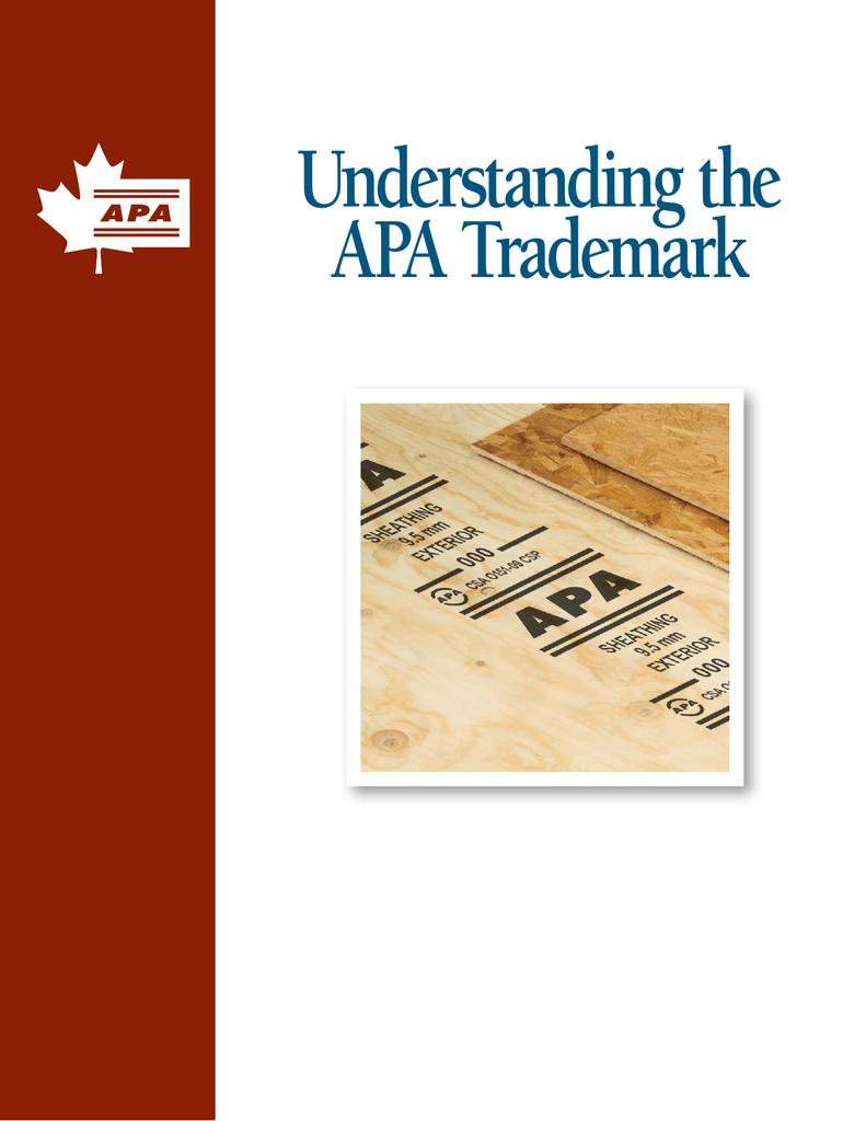 Understanding the APA Trademark