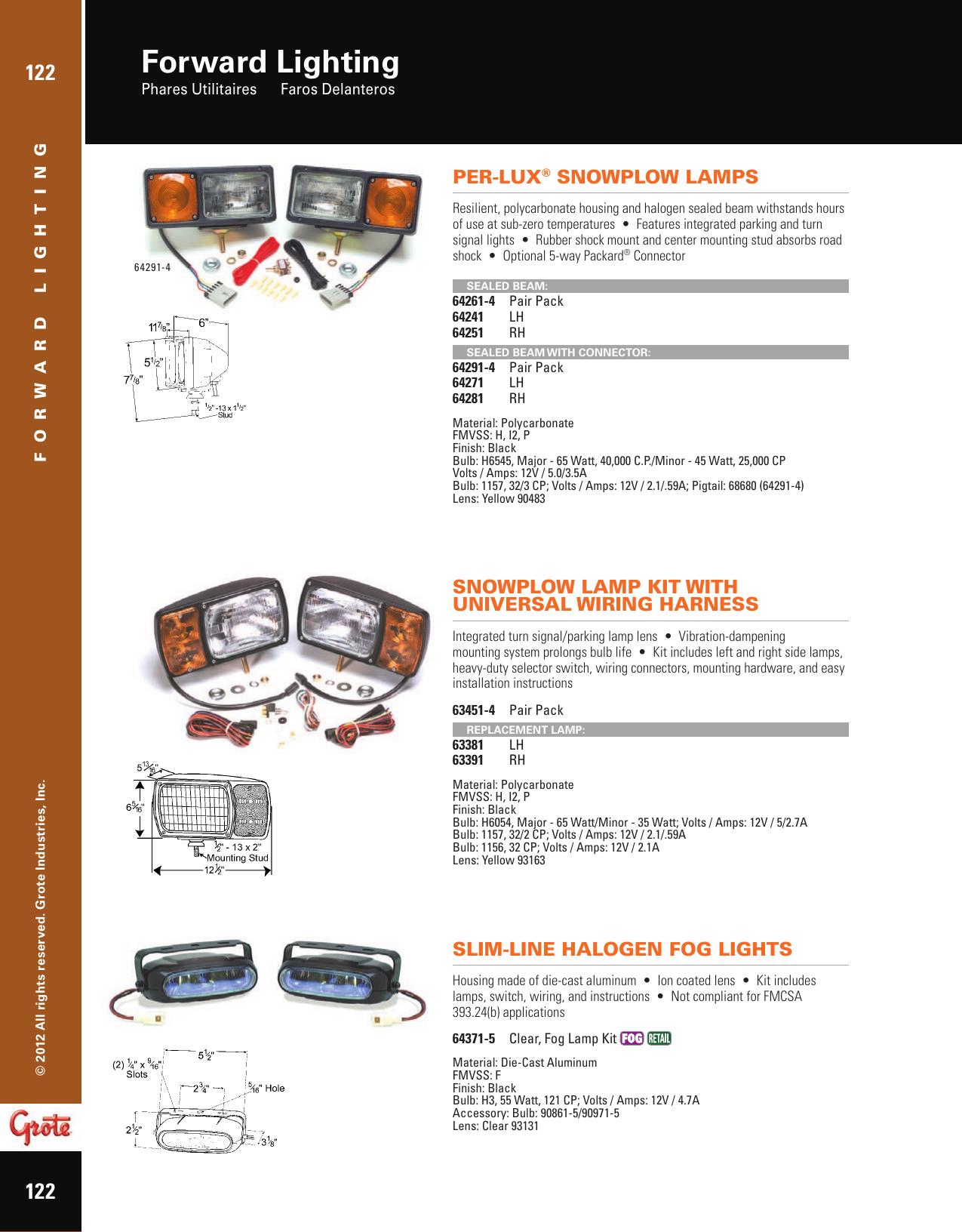 Forward Lighting - Grote Industries