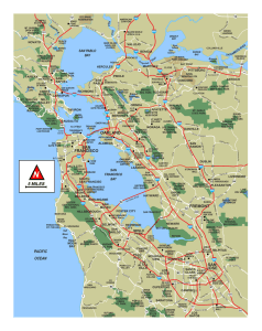 San Francisco Bay Area Map