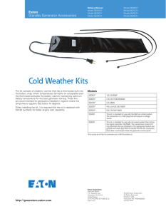 Cold Weather Kits