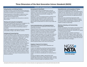 NGSS - Community Resources for Science