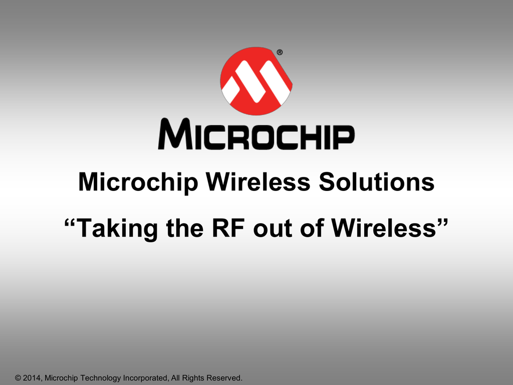 Taking the RF out of Wireless