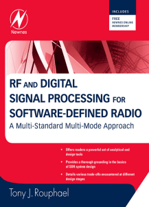 RF and Digital Signal Processing for Software