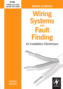 Wiring Systems and Fault Finding,4th Ed. - (Malestrom)