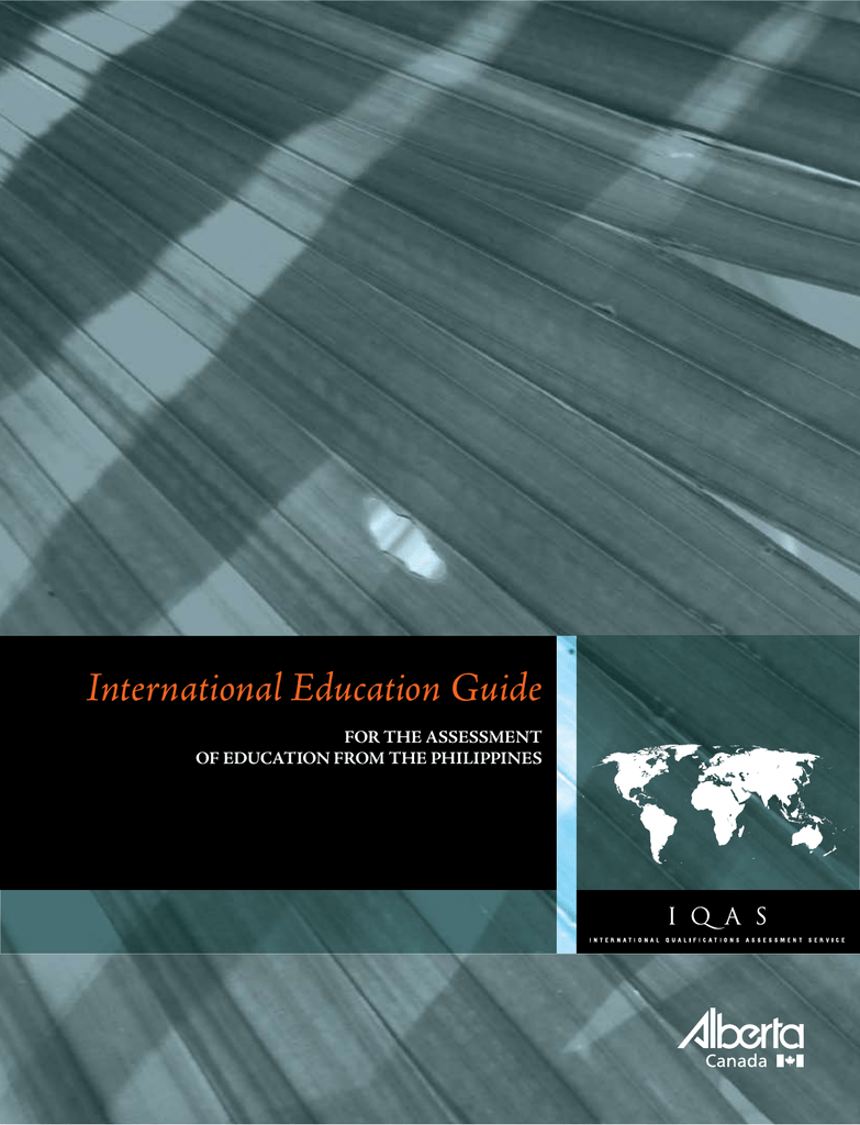 International Education Guide - Philippines