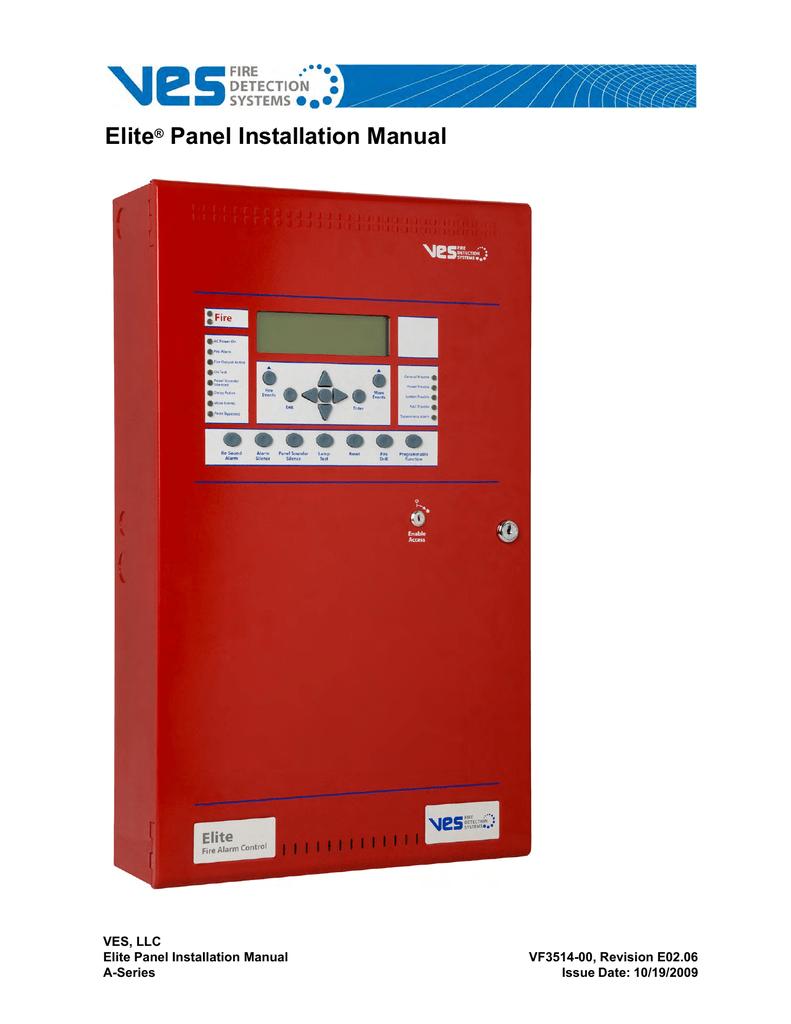 Elite Panel Installation Manual Dact Wiring Diagram