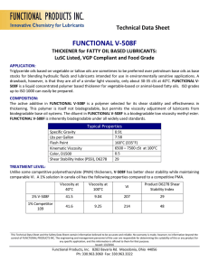 V-508F - Functional Products Inc.