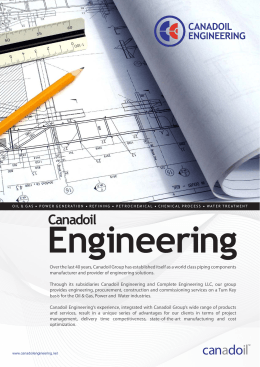 Canadoil - Process Engineering International, LLC