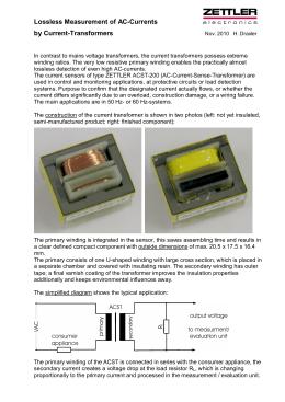Applications Notes - Zettler Electronics