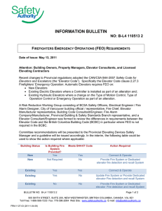 information bulletin - BC Safety Authority
