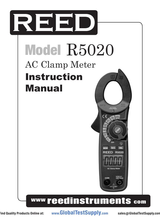 Model R5020 - Global Test Supply