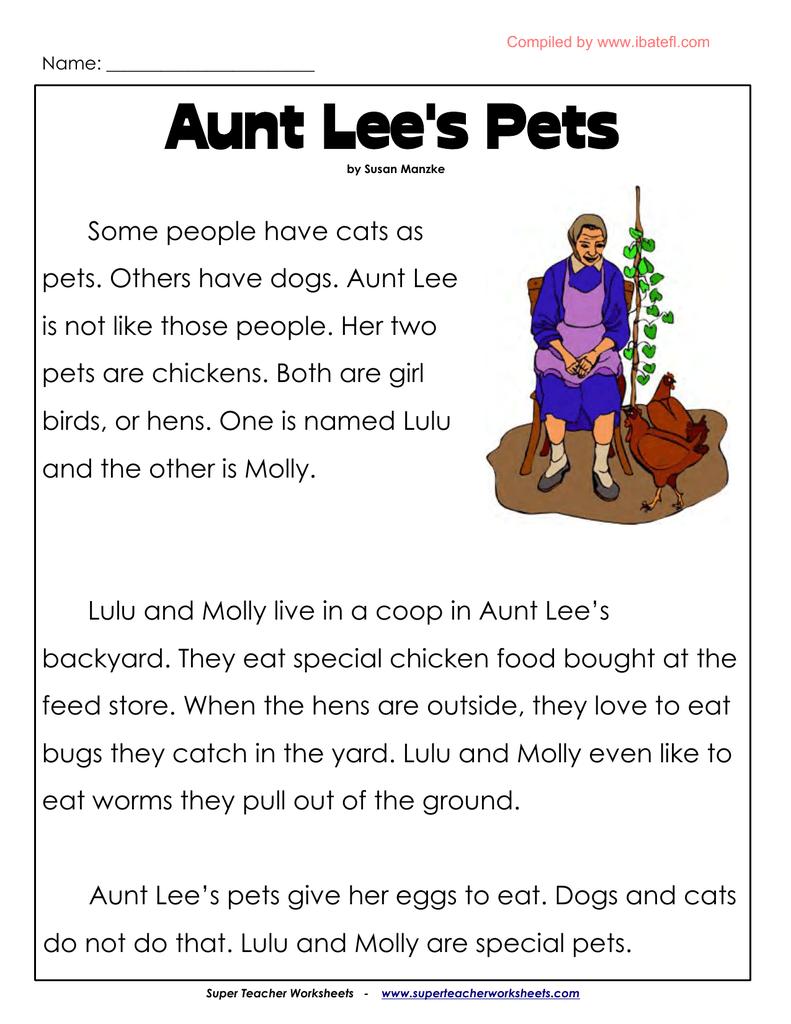Aunt Lee`s Pets