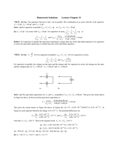 Homework Solutions Lecture Chapter 21