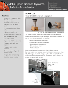 ECAM-C30 - Malin Space Science Systems