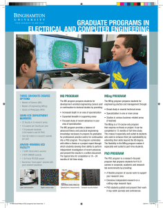 graduate programs in electrical and computer engineering