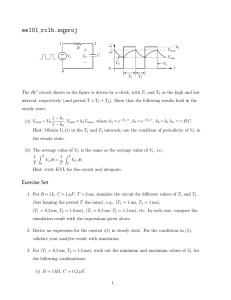 (EE 101: RC circuit (time domain))