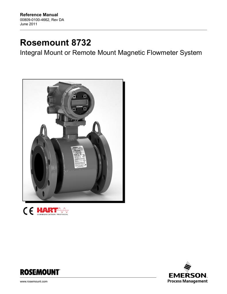 Rosemount 8732e Wiring Diagram 8732 Wire 3051s Emerson Process Management Vortex Flow Meter 14