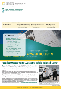 President Obama Visits SCE Electric Vehicle Technical Center