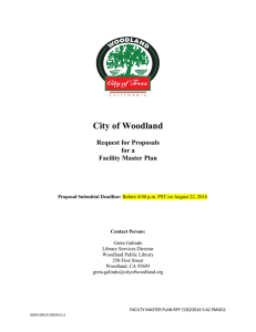RFP Document - City of Woodland