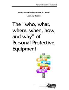 Personal Protective Equipment Booklet