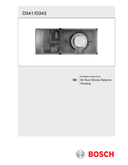 dh 98 conventional duct detector rh studylib net bosch security systems annual report bosch security systems manual