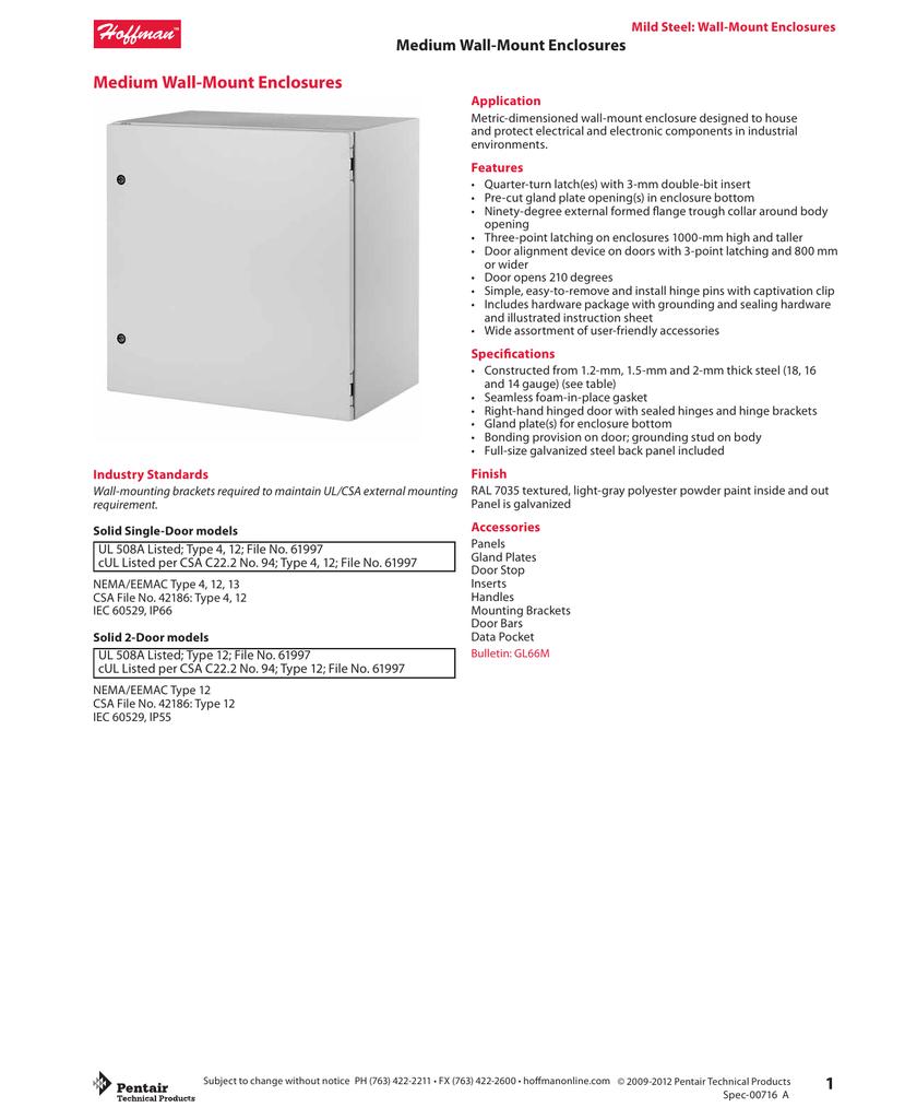 Medium WallMount Enclosures