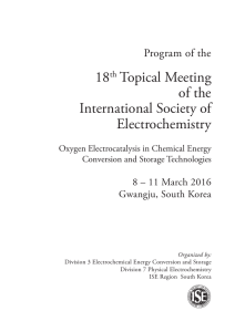 18th Topical Meeting of the International Society of