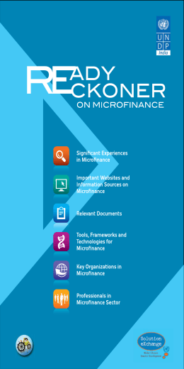 Ready Reckoner on Microfinance