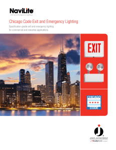 Chicago Code Exit and Emergency Lighting