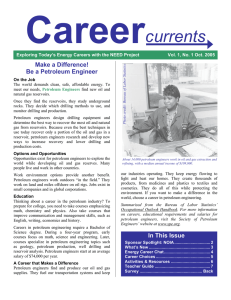Be A Petroleum Engineer