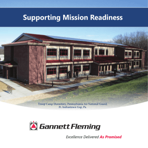 Gannett Fleming Supporting Mission Readiness