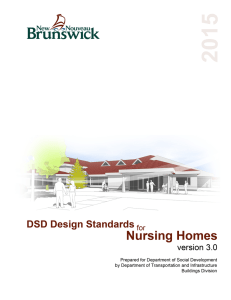 Nursing Home Design Guidelines