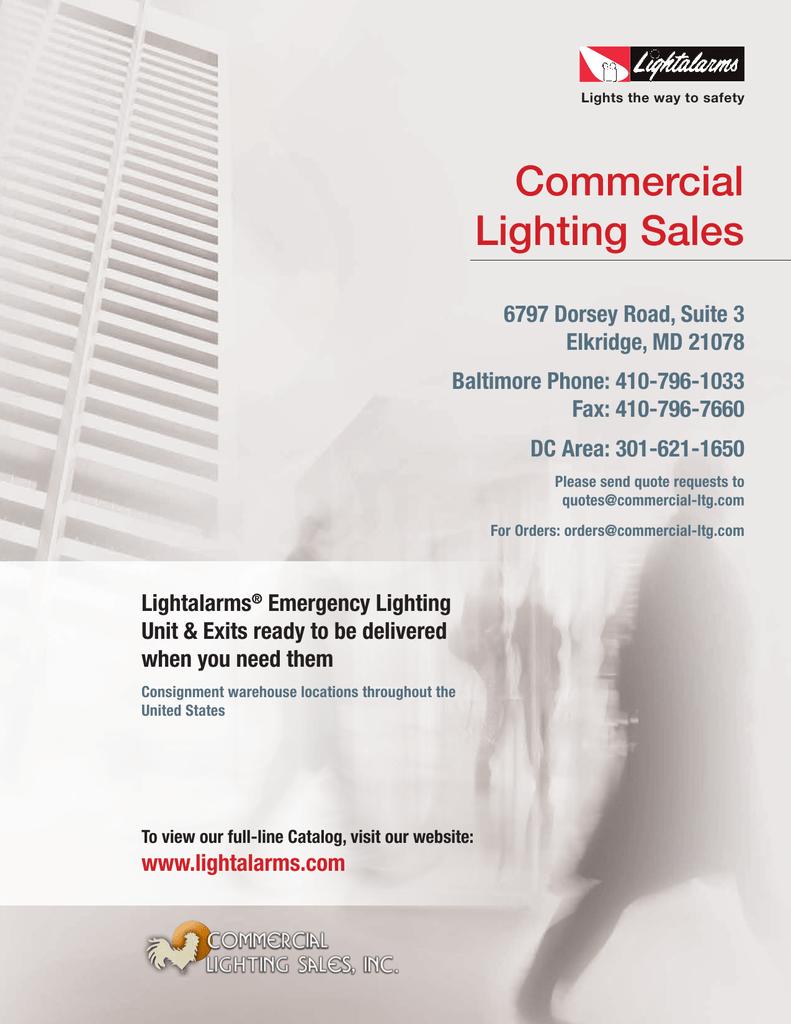 Lightalarms IC-2  emergency light