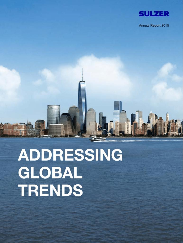 ADDRESSInG GLOBAL TREnDS