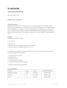 Thermoset Moulding Compounds for Commutators