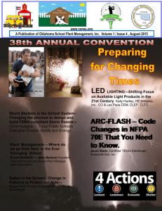 ARC-FLASH – Code Changes in NFPA 70E That You Need to Know