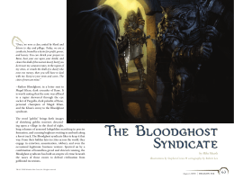 The Bloodghost Syndicate