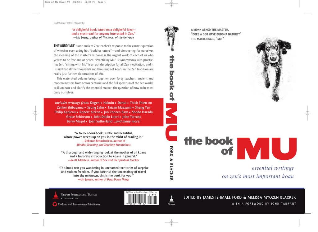 The Book Of Mu Essential Writings On Zens