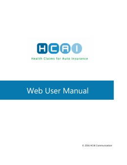 Chapter 7: HCAI Web User Manual for Health Care Facilities