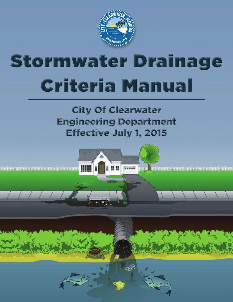 Storm Drainage Design Criteria