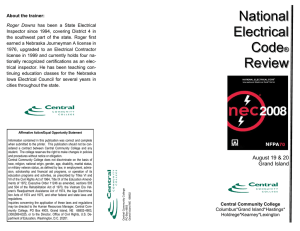 National Electrical Code® Review