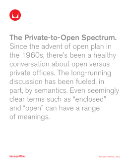 The Private-to-Open Spectrum