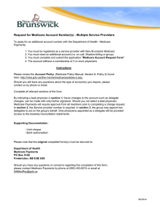 Multiple Service Providers - Government of New Brunswick